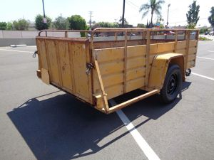 Factory built cargo trailer for Sale in CTY OF CMMRCE, CA