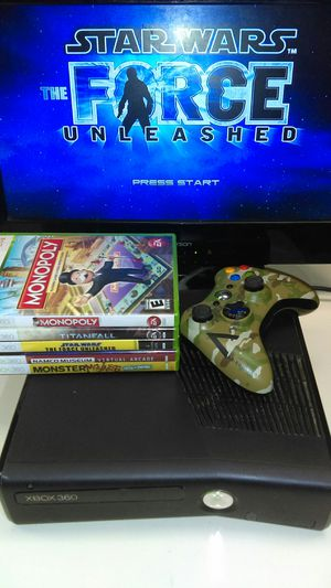 Xbox 360 S + Games for Sale for sale  Pearland, TX