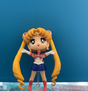 Tamashii Nations Sailor Moon mini figurine for Sale in San Antonio, TX