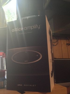 Surround Sound Amplify/w Amazon Alexa for Sale in Amarillo, TX