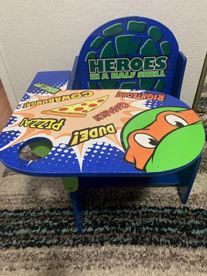 Ninja turtles kids desk for Sale in Colma, CA
