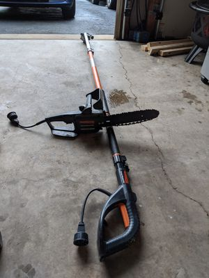 Electric Chainsaw Branch trimmer with extension pole. Pick up only. Firm price for Sale in Laurel, MD