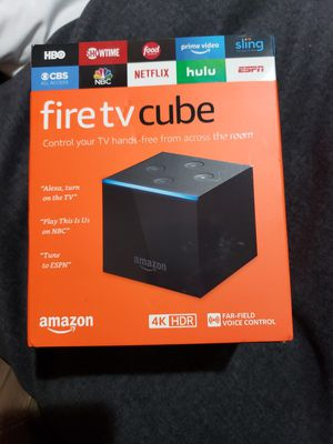 Fire tv cube for Sale in DeSoto, TX