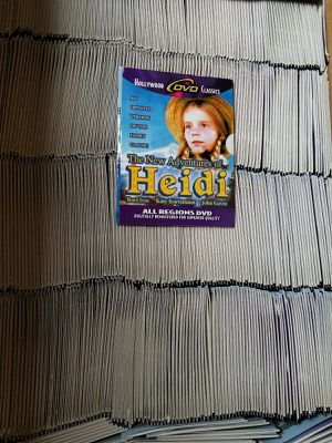 630 New DVDs New Adventures of Heidi 1978 Burl Ives Classic Hollywood Switzerland for Sale in York, PA