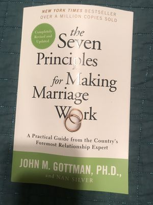 New, The Seven Principles for Making Marriage Work for Sale in Gainesville, GA