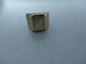 Gold plated mens ring for Sale in Manteca, CA