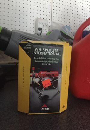Camp stove multi fuel backpacking stove MSR for Sale in Woodbridge, VA