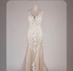 Ivory Paza Wedding Dress for Sale in San Jose,  CA