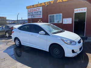 2013 Hyundai Accent 1.6 parts only for Sale in Phoenix, AZ