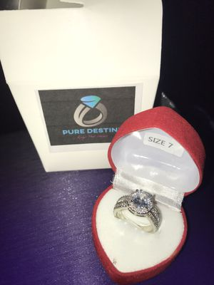 Sterling Silver Forever Engagement Ring for Sale in Biloxi, MS