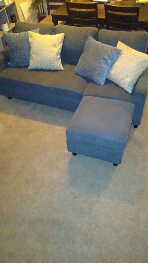 "Winston Porter Sylvette 78.5"" Reversible Sectional for Sale in Walnut Creek, CA"
