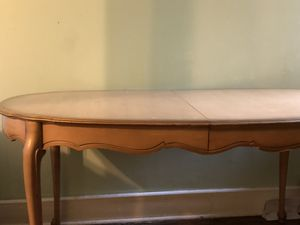 Old antique dining room table $40 for Sale in Philadelphia, PA
