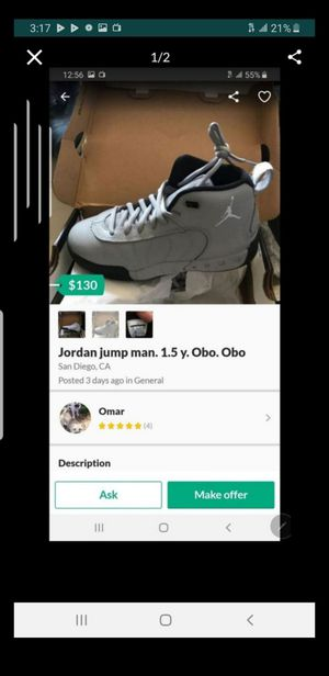 Jordan jump boy 1.5. Obo for Sale in San Diego, CA