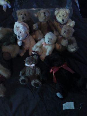 Boyd's bears collection and 1 bearington bear for Sale in Modesto, CA