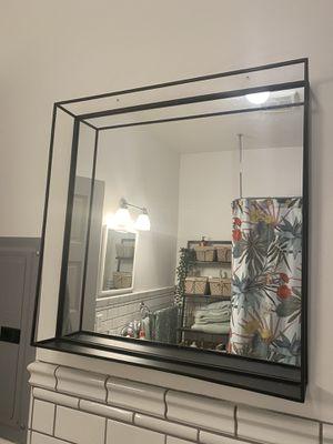 Black Steele Mirror for Sale in LA CANADA FLT, CA
