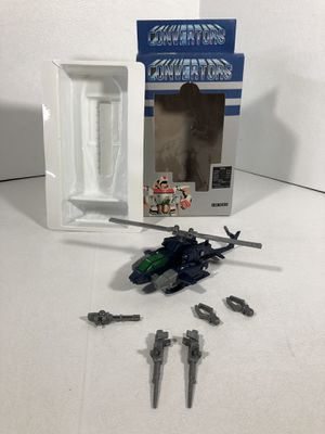Toy Convertors Gazzette Calibur MIB Complete Transformer 1/80 Scale Whirl action figure for Sale in Hayward, CA