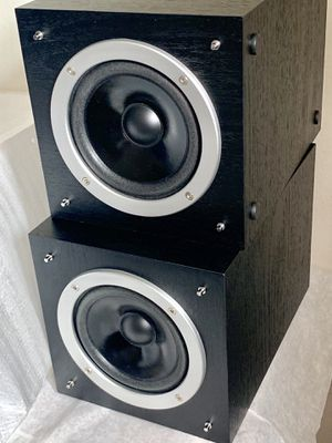 Philips Speakers Micro Stereo System Bookshelf MCM704D 8 OHM Set Of 2 for Sale in Los Altos, CA