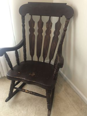Rocking Chair for Sale in Cary, NC