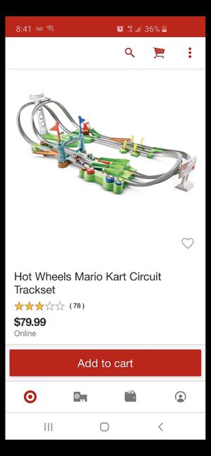 Mario track with cars for Sale in Tulsa, OK