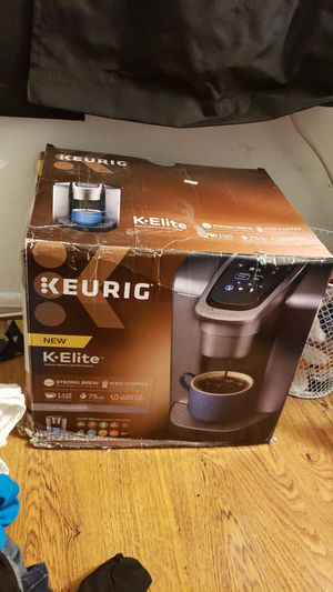 keurig k•elite coffee maker for Sale in Huntington Beach, CA