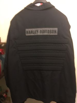 Harley Davidson Jacket, XXL, 100% Nylon for Sale in Lawrenceville, GA