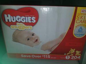 Huggies size 1 for Sale in Chesapeake, VA