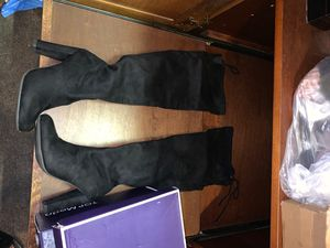 Black thigh high boots for Sale in San Diego, CA