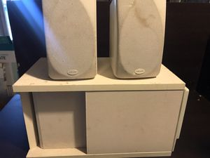 Bose accoustimas 3 sub with Polk Audio satellite speaker for Sale in Mesa, AZ