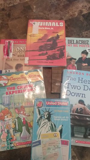 $5 Children's books and United States Flash cards for Sale in San Antonio, TX