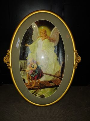 Antique glass bubble frame for Sale in Woonsocket, RI