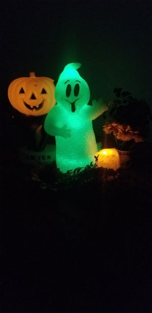 Halloween Light Up Ghost Figurine for Sale in Riverside, CA