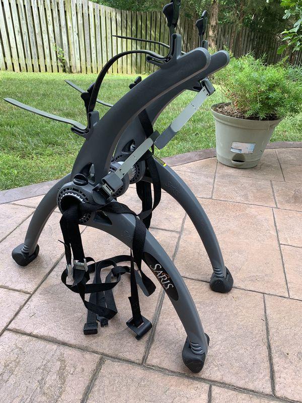 Rear mount bike rack