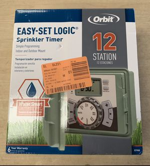 Orbit 12-Station Easy-Set Logic Indoor/Outdoor Sprinkler Timer for Sale in Glendale, AZ