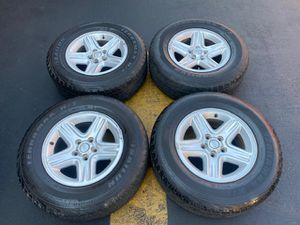 "(4) 16"" Jeep Wheels - $280 for Sale in Santa Ana, CA"