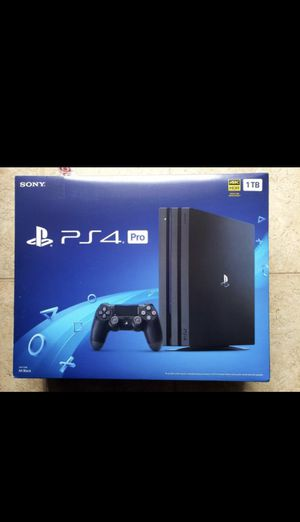 PS4 pro for Sale in Chino Hills, CA