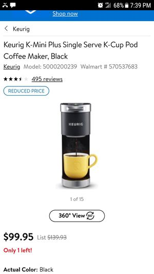 BRAND NEW KEURIG MINI CUP PLUS UNOPENED $40/OBO for Sale in Lexington, KY