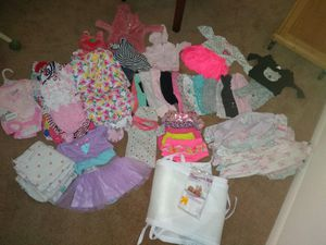 BABY GIRL CLOTHES NB-6 MONTHS for Sale in Roanoke, VA