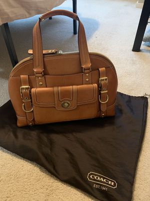 LIMITED EDITION Leather Coach Purse for Sale in Bothell, WA