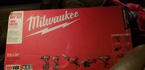 Milwaukee 5 tool set for Sale in Lawton, OK