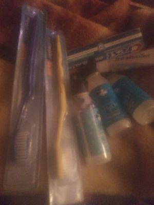 New tooth brush and paste bundle for Sale in Murfreesboro, TN