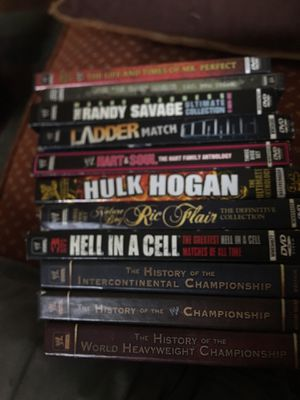 Wrestling dvds for Sale in Canton, MA