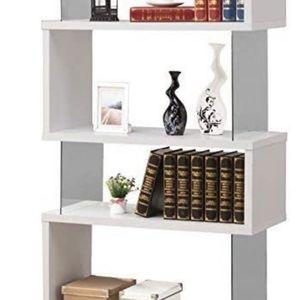 White Bookcase/Bookshelves, Contemporary Storage, Modern Bookshelf for Sale in Boston, MA