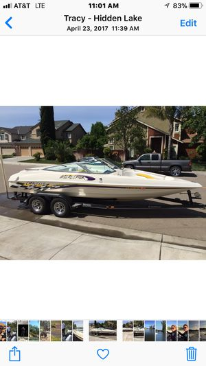 2001 caravel interceptor 21 foot open bow for Sale in Tracy, CA