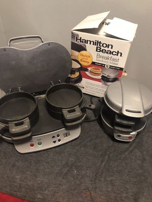 Breakfast sandwich maker single and double for Sale in Sanger, CA