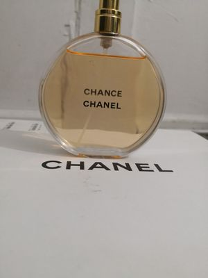 Chanel chance perfum for woman's 100ml 3.4oz open box retails 135$plus tax 100%authentic for Sale in Seattle, WA