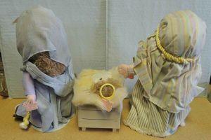 "RARE Vintage 1986 13"" Precious Moments # 21028 SILENT NIGHT Mary Joseph Jesus for Sale in Temecula, CA"