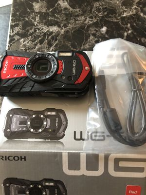 BRAND NEW RICOH WG-60 DIGITAL CAMERA IN BOX for Sale in East Lansdowne, PA