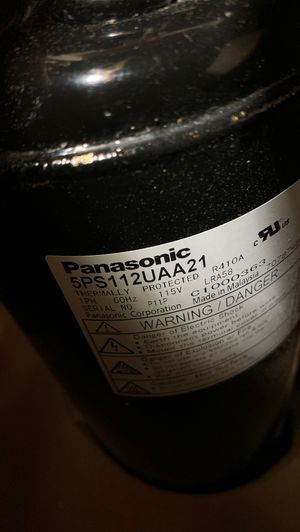 Compressor Panasonic 5PS112UAA21 for Sale in Queens, NY
