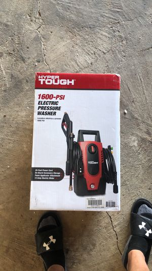 Hyper tough 1600psi electric power washer unopened for Sale in Stockton, CA