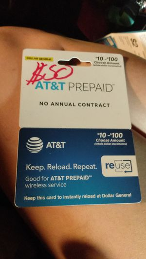 $50 AT&T card for Sale in Chicago, IL